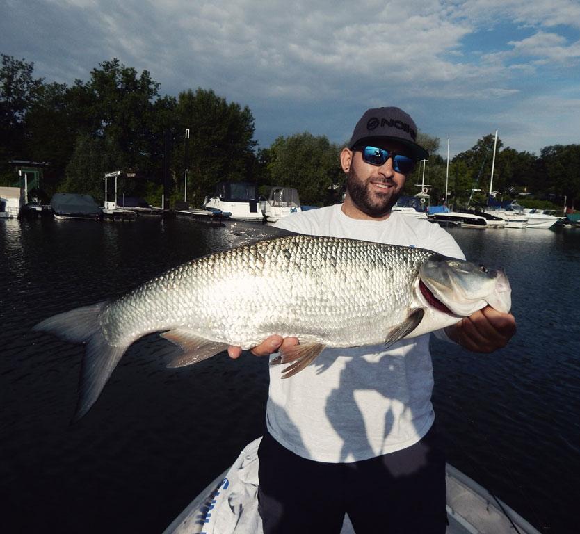 Navid von A-Game Fishing